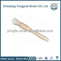 Hot selling soft hog hair bristle car wash brush with low price