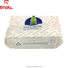 High Quantity 50 micron Alibaba Plastic Carrier Patch Handle Bags