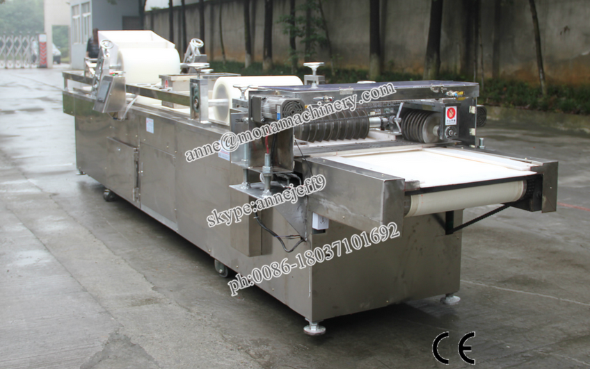 High output snack machine to make peanut candy / cereal bar production line