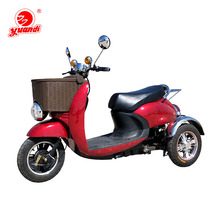 China Three Wheel Electric Tricycle For 2 Adults Person