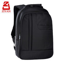 Big back trolley go through pocket adult school bags laptop, many pockets black waterproof multipurpose laptop backpack for men