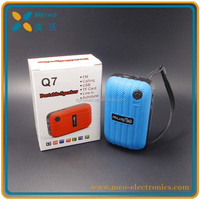 Fashionable design promotion gift portable mini bluetooth speaker