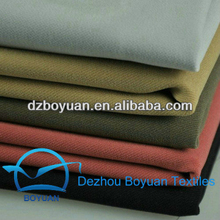"hot sale 100% cotton twill fabric 21x21 108x58 57/8"" 3/1 dyeing 200gsm for pants"