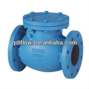 BS5153 swing check valve with bronze trim, flange connection