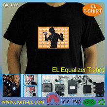 Made in China batman light el t-shirt/led t shirt wholesale/el t-shirt Online Shopping