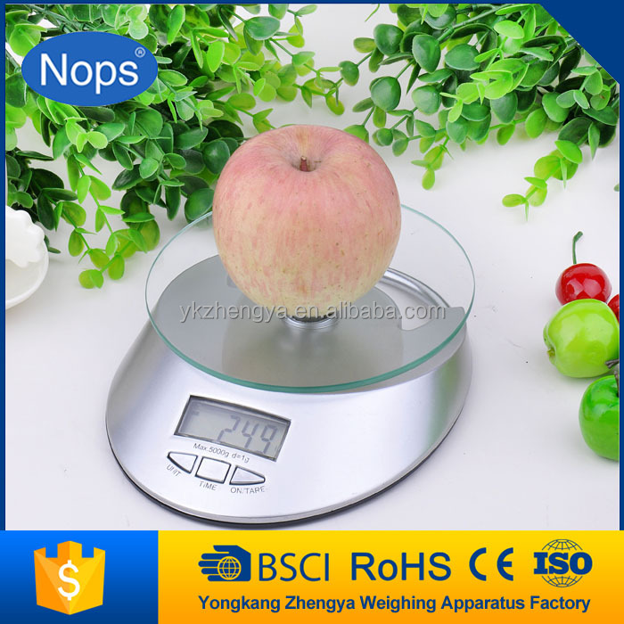 <strong>Max</strong> capacity up to 10kg electronic digital kitchen scale