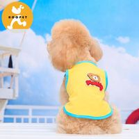 Different colors cute dogs clothes and accessories is pet