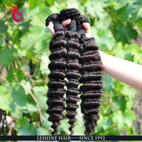 Aliexpress Factory Price Virgin Remy Thick End brazilian hair bulk