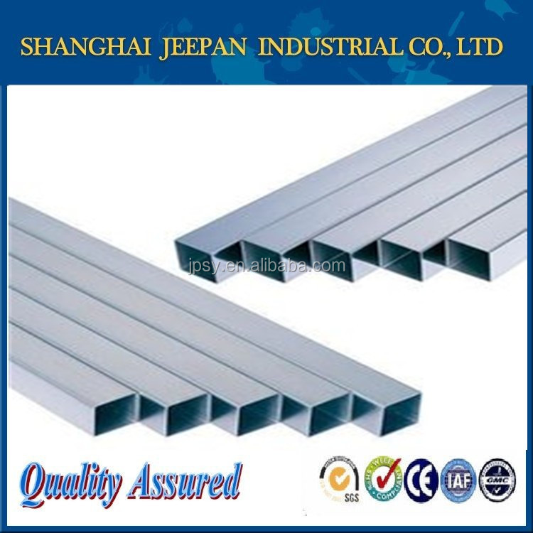 stainless steel square pipe 309s with low coefficient of thermal expansion