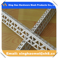 cheap price Building material drywall corner bead for wall corner 145g/m width 50mm*50mm plastic end caps for angle iron