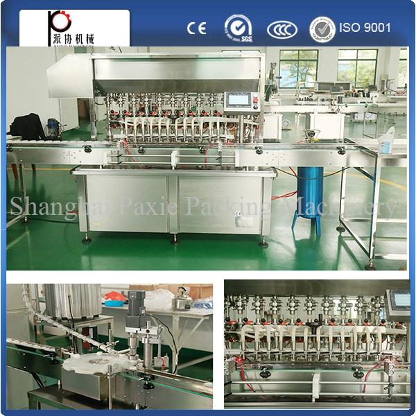 ISO9001 approval 2 years warranty tomato sauce/jam filling capping machine with high quality