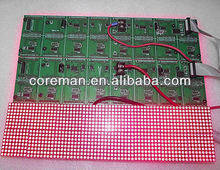 32x64 indoor p4 p4.75 p7.62 led dot matrix module / indoor dual color p7.62 led module 64x32