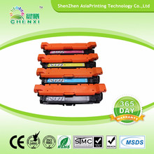 Reman CE251A CE252A CE253A Color Toner Cartridges for HP CP3520 3525