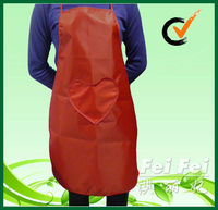 design cooking andkitchen plastic aprons for adults waiter apron