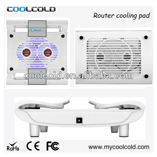 2014 new tablet pc and router 8inch cooling pad