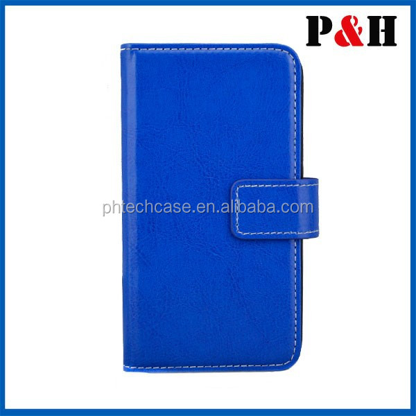 Stand PU Leather Folio Cover For samsung galaxy S5 flip case
