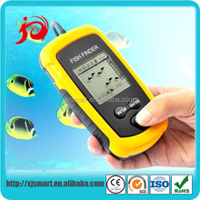 New portable wireless fish finder with LCD display