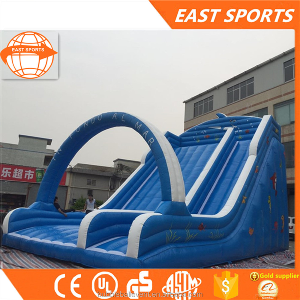 Top quality adult size inflatable water slide for sale