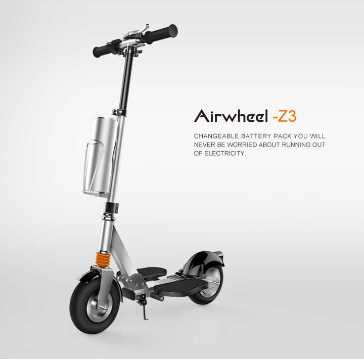 Airwheel folding portable mini scooter Z3 e-scooter 2 wheel balance scooter wholesale