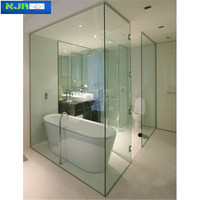 6mm shower screen glass tempered glass