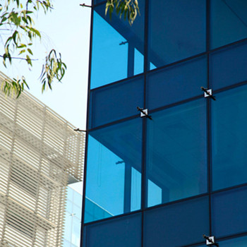 Top grade OEM aluminum reflection glass curtain wall