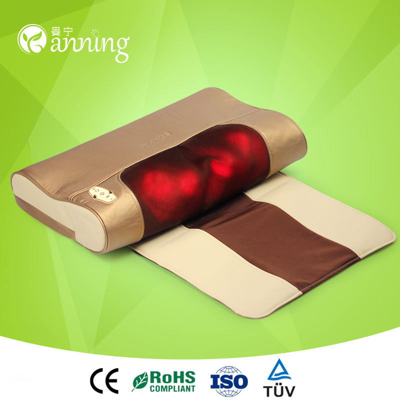 New design/style professional neck massager,professional perfect massage pillow,protect full body health massage pillow