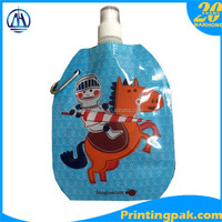 Spout Top Sealing & Handle and Beverage Industrial Use Plastic Spout Pouch for Hot Jam