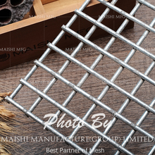 Galvanized welded wire mesh panel fence