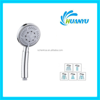 HY021 Cixi Huanyu good quality new bathroom accessories high spray abs plastic shower head