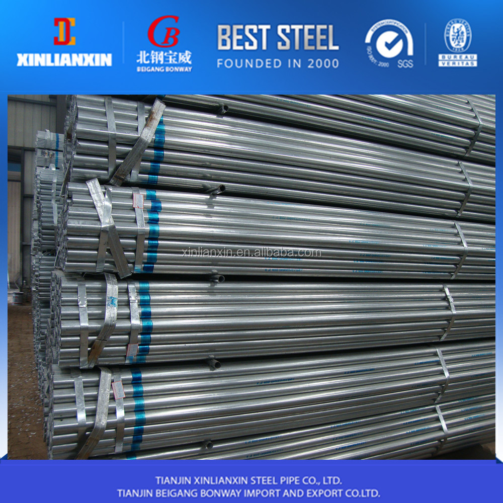 "wholesale pipe ! pre galvanized steel pipe/ 1/2""""-4"""" emt electrical conduit pipe"
