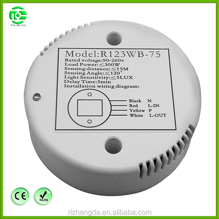 Electrical wholesale Microwave radar sensor Switch