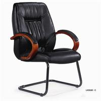leather antique office chairs without wheels