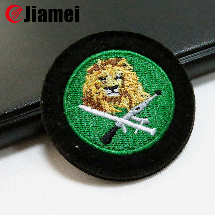 2014 hot sale motorcycle stick-on sport embroidered patches