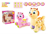 High Quality Baby Items Electronic Toys Funny Sheep Assted. colour with Music and Light