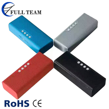 four color option powerbank speaker BT with USB port TF card DC5V input voltage