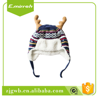Wholesale price knit acrylic beanie hat men