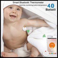 2016 new Intelligent Multi-Function smart Thermometer Bluetooth Baby thermometer real-time monitoring body's temperature