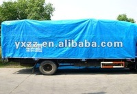 PP or PE tarpaulin cover packed in bag, bale or roll, awning material
