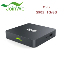 1G Android TV Smart Set Top Box M9S TV Box Built-in WiFi with 4 High speed USB
