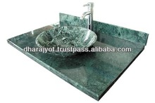 Wholesale Green Granite Counter Kitchen Bathroom Sink