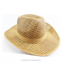 The new type foldable breathable straw cheap panama hat