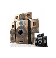 Wooden Box and plastic panel speaker Active powered 3.1 surround home