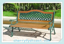 Superior Quality Outdoor Parks Amenities Metal Patio Bench