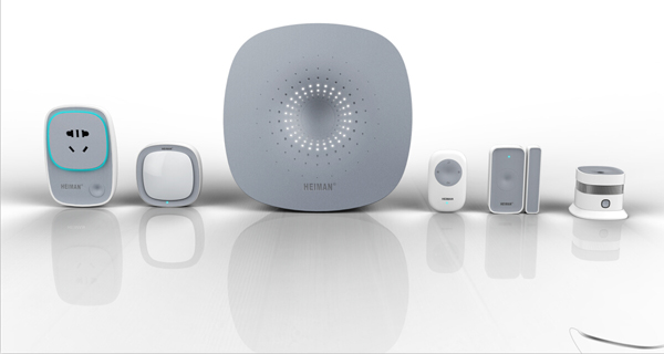 Smart Home Hub with Mobile Phone Application Product