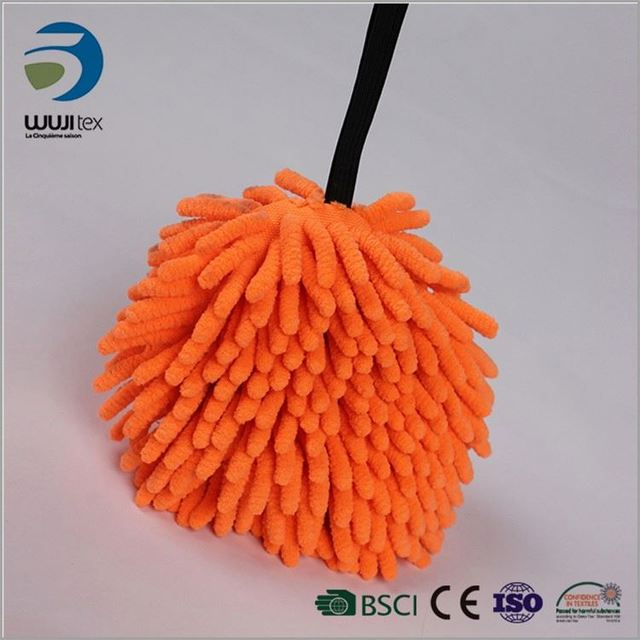 quick drying water absorbing cheap chenille car wash sponge