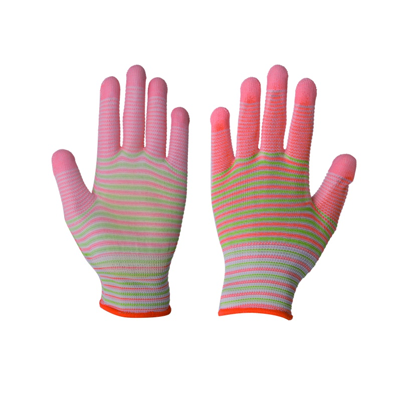 China famous brand high quality PU coated gloves