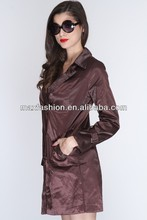 brown button detailing stylish ladies evening sequin jackets ,ladies fox fur leather jacket,ladies woodland jacket