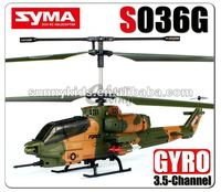 NEW SYMA S036G 3.5CH RC HELICOPTER WITH CAMERA AND GYRO