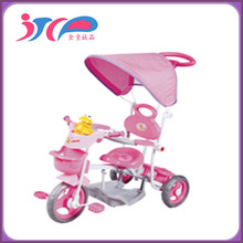 2015 hot selling New style High Quality children tricycle baby tricycle simple tricycle new models with back seat JTCP-S-3105GP