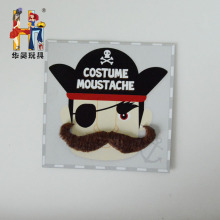 wholesale beautiful color mini party fake pirate moustache